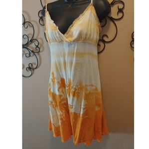 Aaron Chang Yellow Ombre Dress